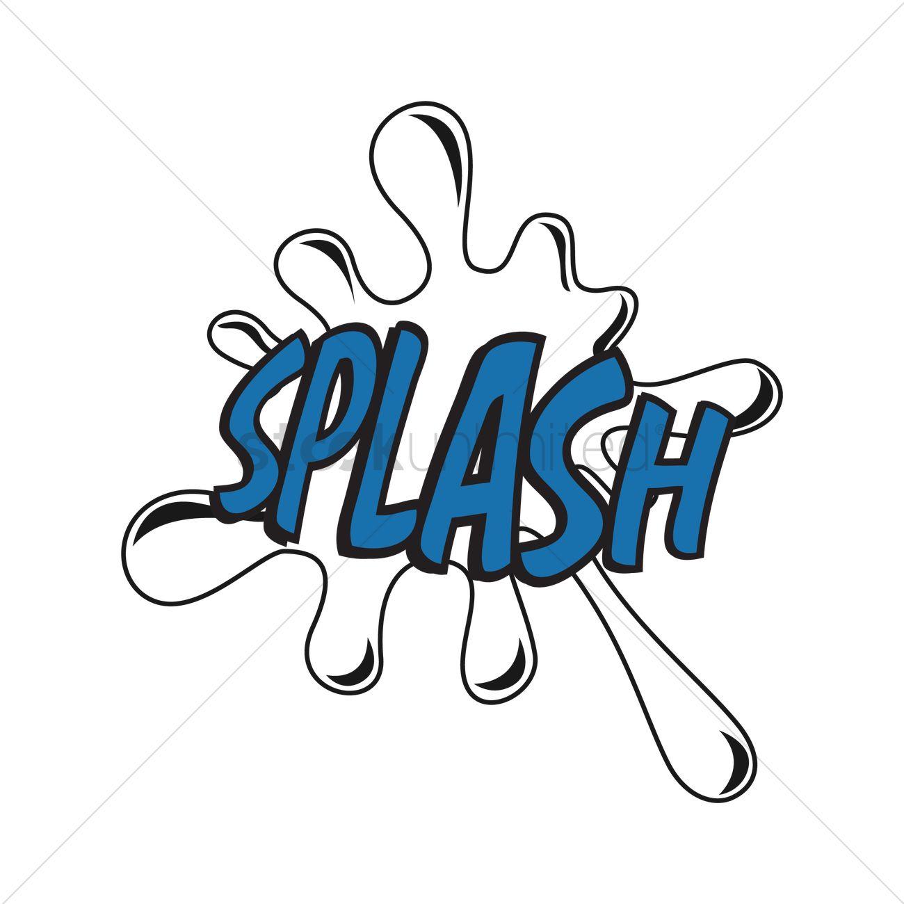 1300x1300 Comic Effect Splash Vector Image