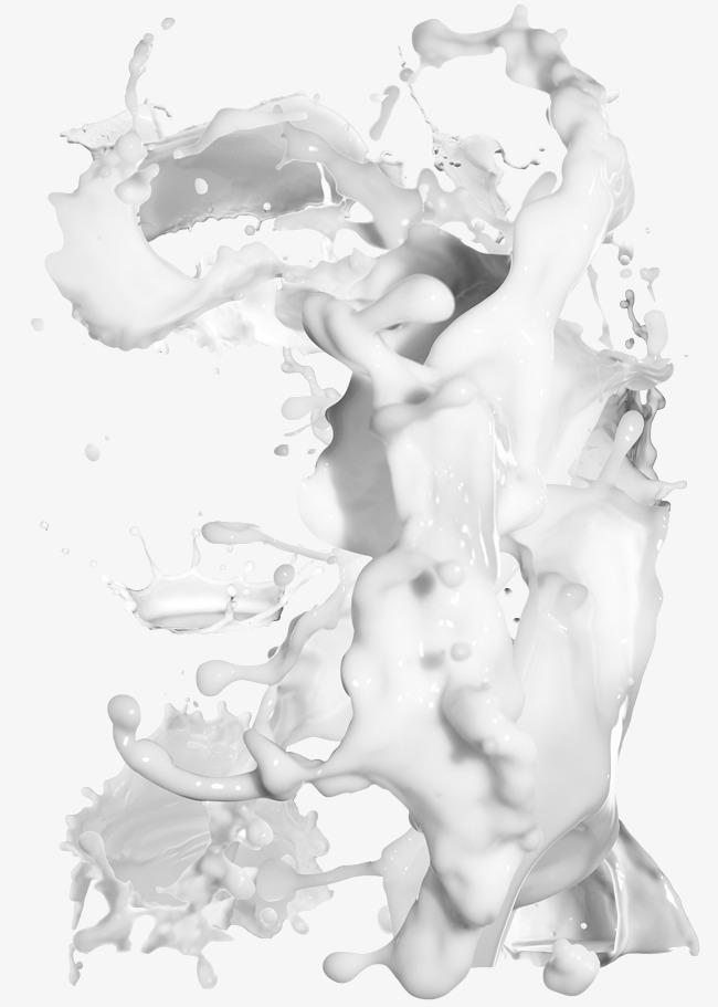 650x911 Splash Of Milk To Pull Material Multilayer Hd Free, Splash Of Milk