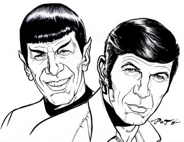 Spock Drawing