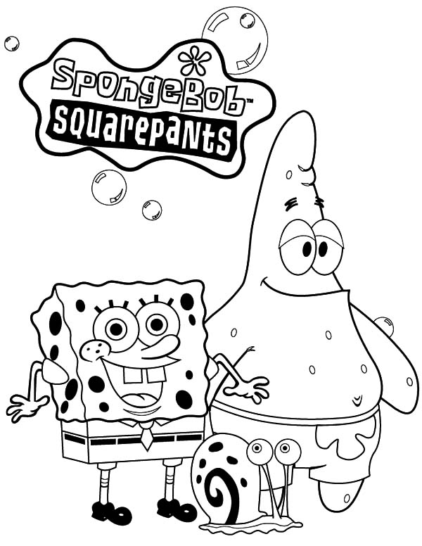 Spongebob And Patrick Drawing at GetDrawings.com | Free for personal ...