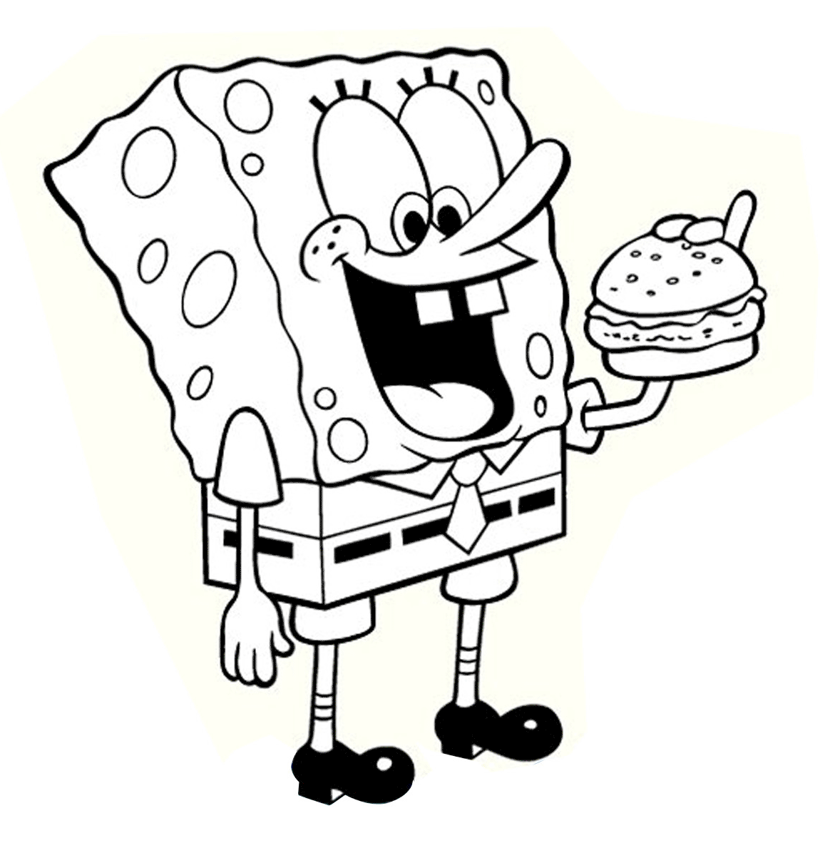 Spongebob Characters Drawing