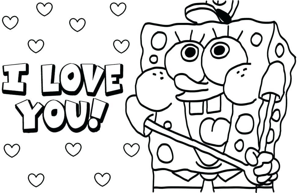 970x632 Spongebob Squarepants Pictures To Color Coloring Pages Printable