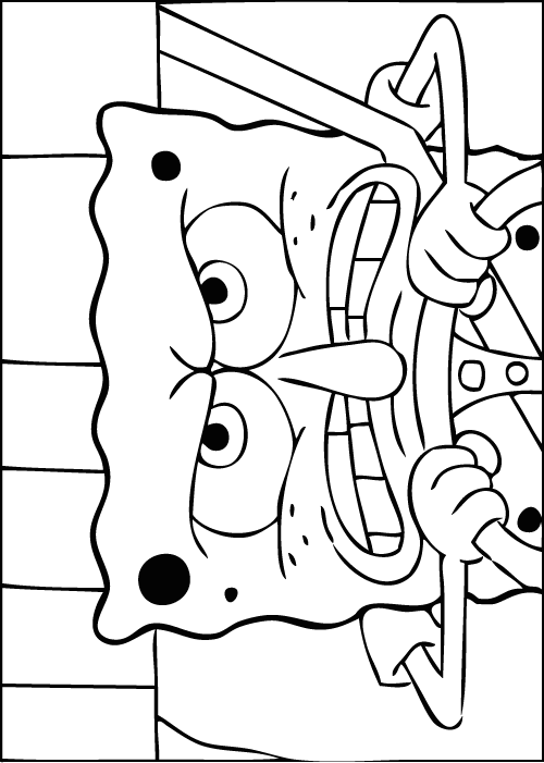 500x701 Roblox Spongebob Game Coloring Pages