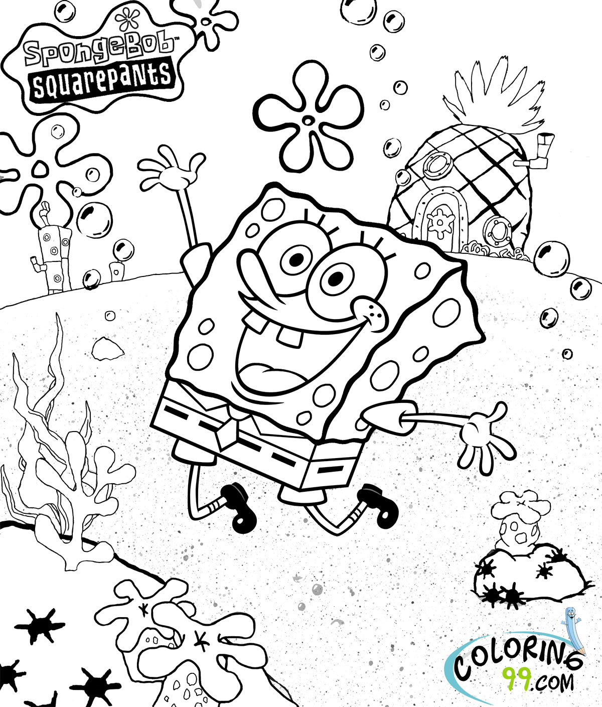 1200x1409 Coloring Pages For Kids Spongebob Patrick Spongebob Coloring