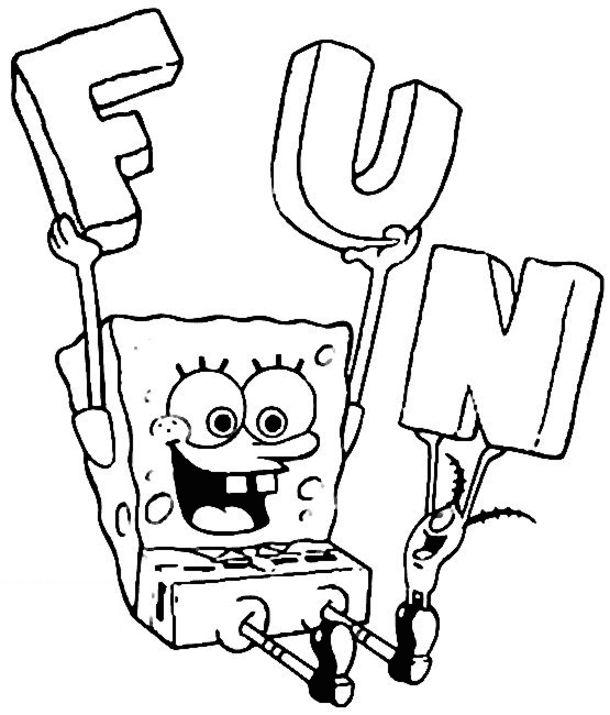 Spongebob Easy Drawing