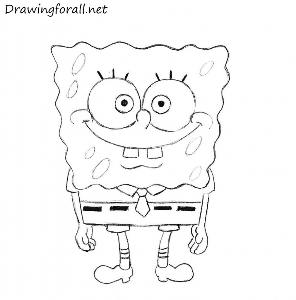 spongebob easy drawing at getdrawings com free for personal use