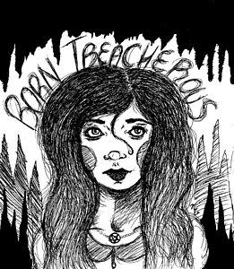 261x300 Spooky Drawings