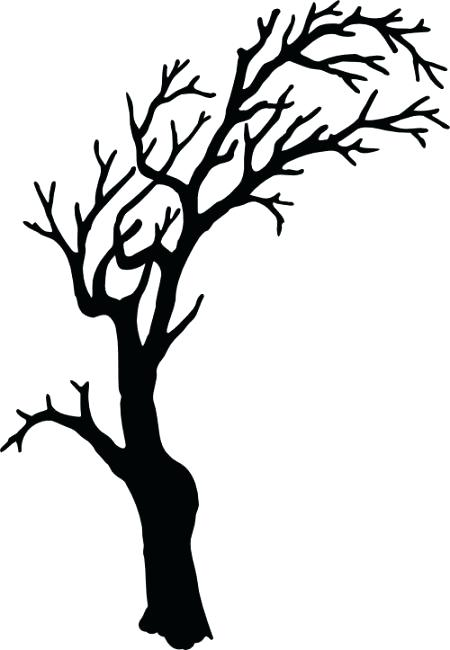 spooky tree drawing at getdrawings com free for personal use