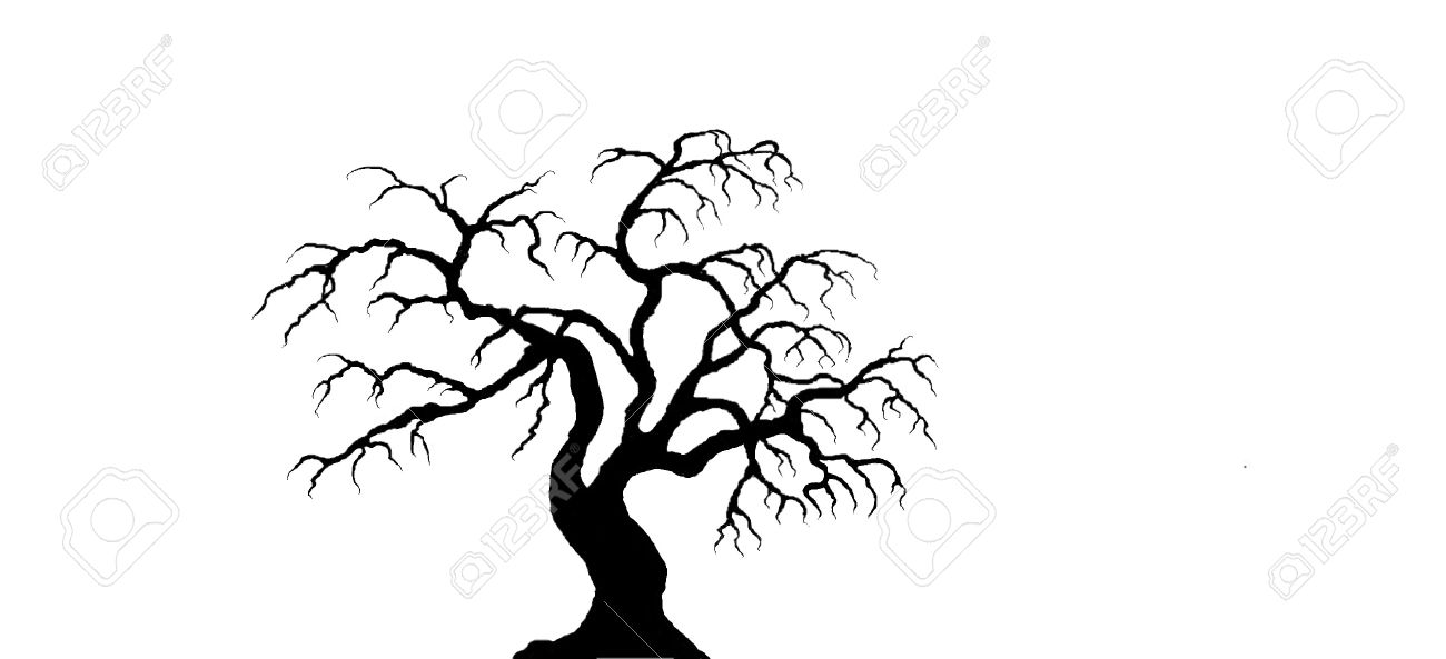 1300x593 Spooky Paper Tree Backdrop Crafthubs