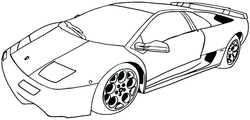863x417 Car Color Page Coloring Pages Police Car Cool Car Coloring Pages