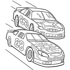 230x230 How To Draw A Nascar Race Car Car Drawing For Kids