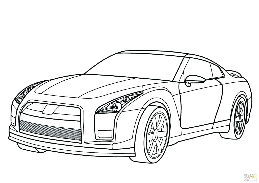1024x724 Sport Car Coloring Pages Fast Car Coloring Pages Gt Cars Car