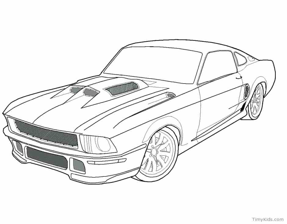 940x735 Sport Cars Coloring Pages Coloring Page Sports Car Coloring Pages