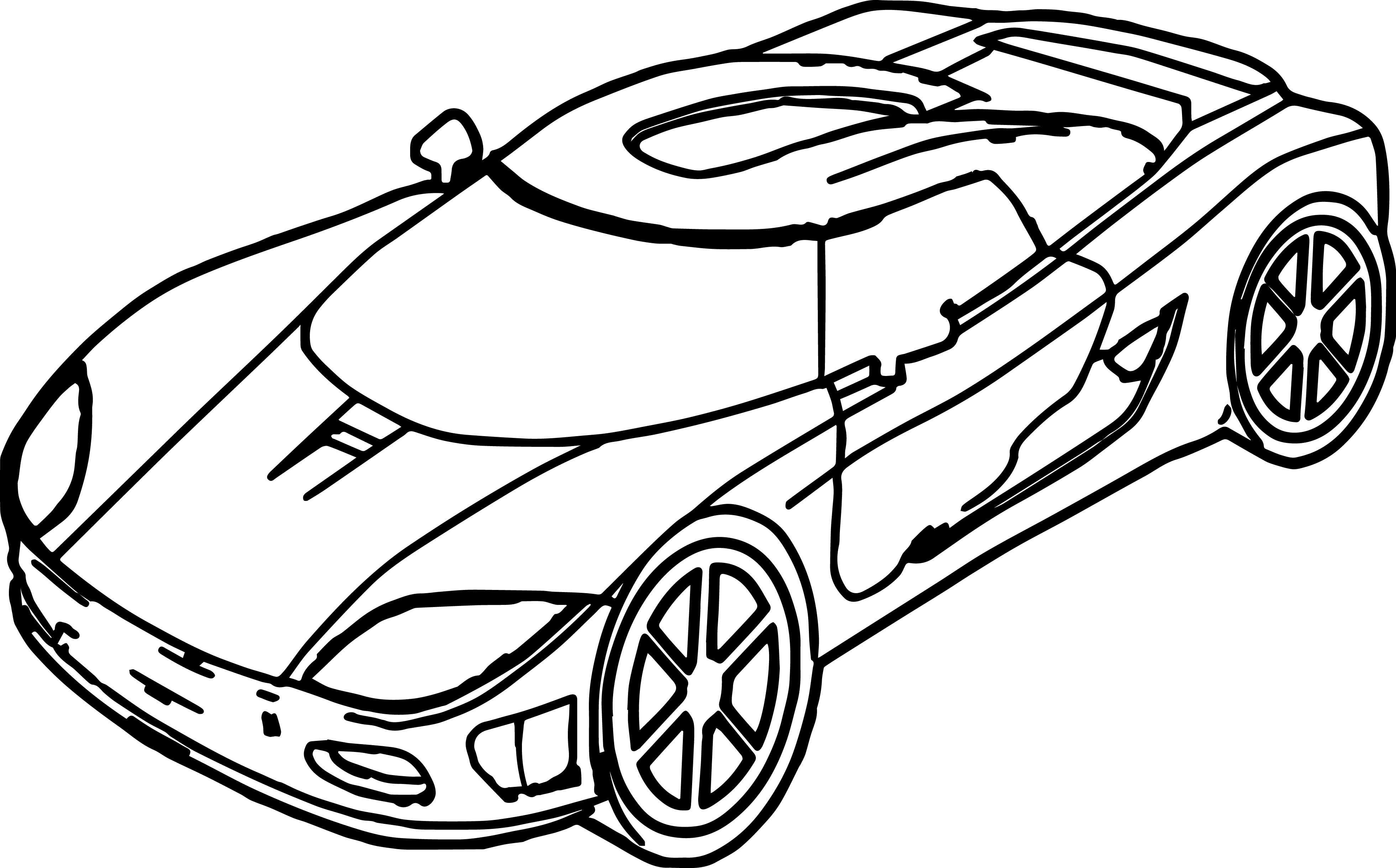 3921x2438 Sport Toy Car Coloring Page Wecoloringpage