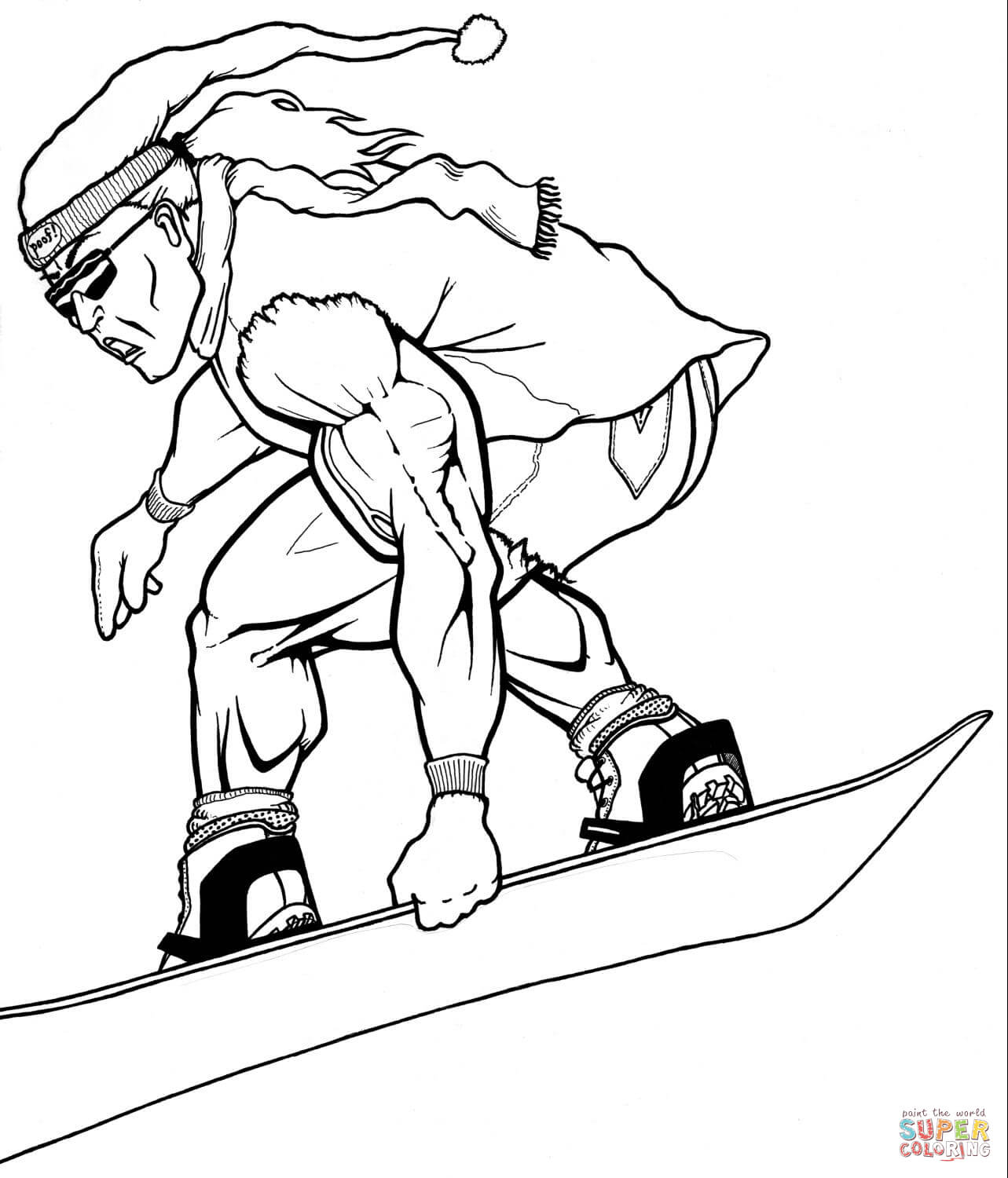 1283x1500 Winter Sport Coloring Pages Free Coloring Pages