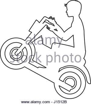 300x348 Sport Motorcycle Vector Stock Vector Art Amp Illustration, Vector