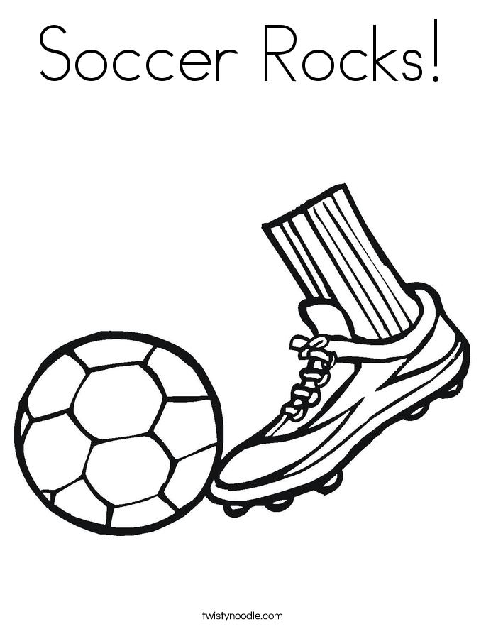 685x886 Drawn Ball Soccer Shoe
