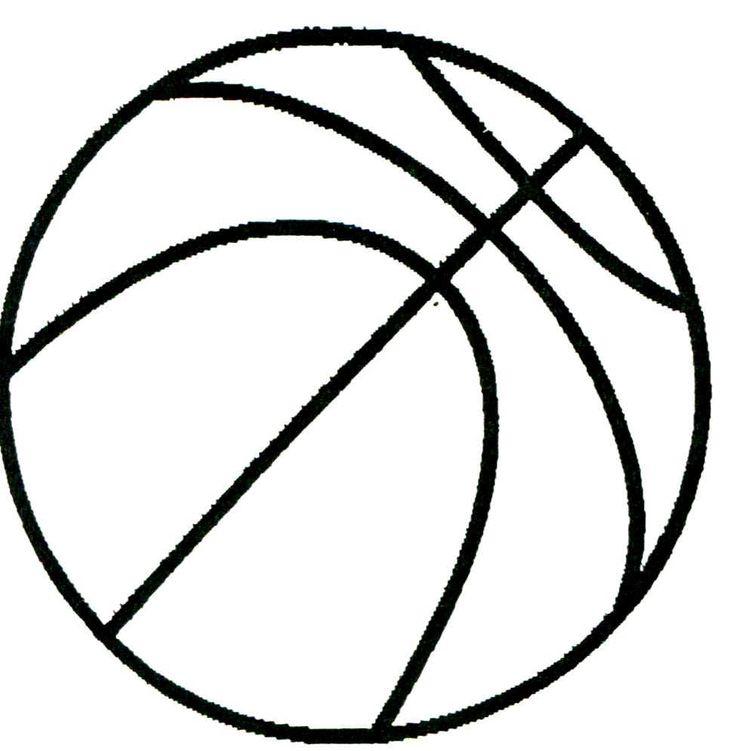 736x751 Basketball Toddler Craft