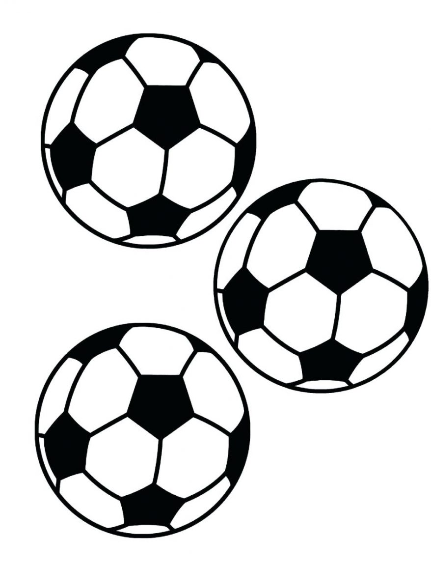 878x1152 Soccer Ball Coloring Page Printable Picture Of A Best Download