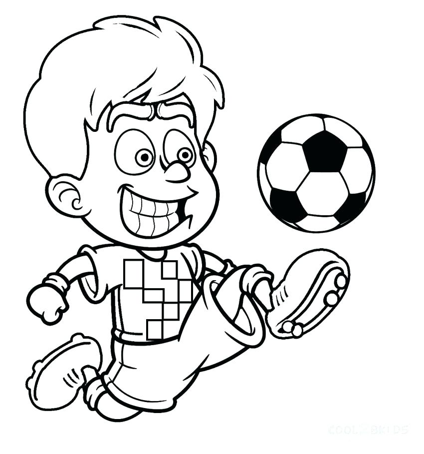 850x909 Sports Balls Coloring Pages Soccer Ball Page Printable Picture