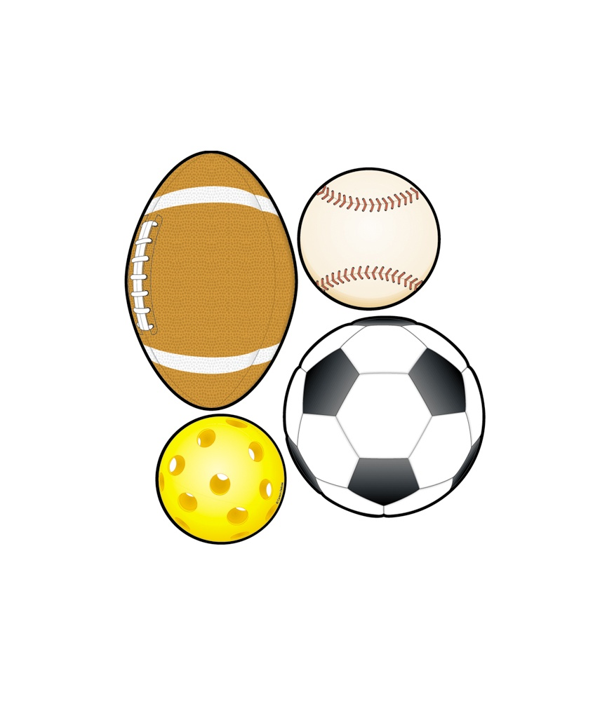 875x1000 Sports Balls Cut Outs Grade Pk 8 Carson Dellosa Publishing