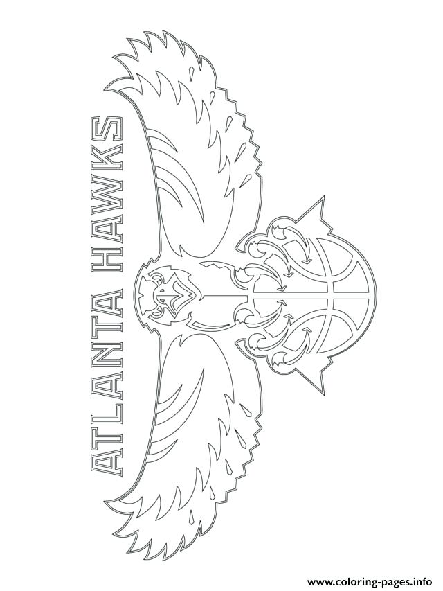 640x853 Sports Coloring Pages Printable 47 In Addition To Hawks Logo Sport