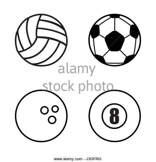 520x540 Volleyball Player Sport Competition Icon Stock Photos Amp Volleyball