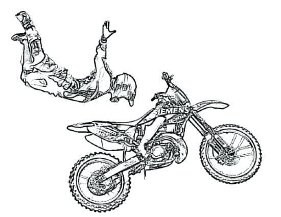 550x425 Printable Dirt Bike Coloring Pages Dirt Bike Coloring Pages