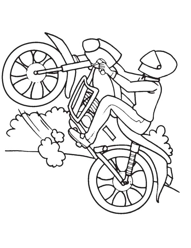 612x792 Sport Bike Coloring Page Download Free Sport Bike Coloring Page