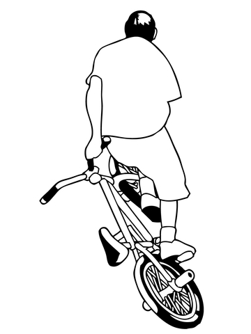 360x480 Street Bmx Bike Coloring Page Free Printable Coloring Pages