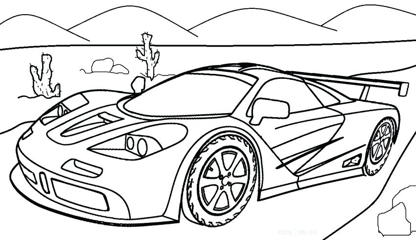 850x490 Cheap Sports Car Coloring Pages New Printable For Kids Cool