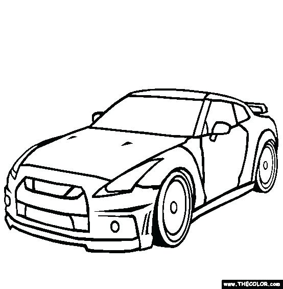554x565 Inspirational Sports Car Coloring Pages Free Download Best Ford