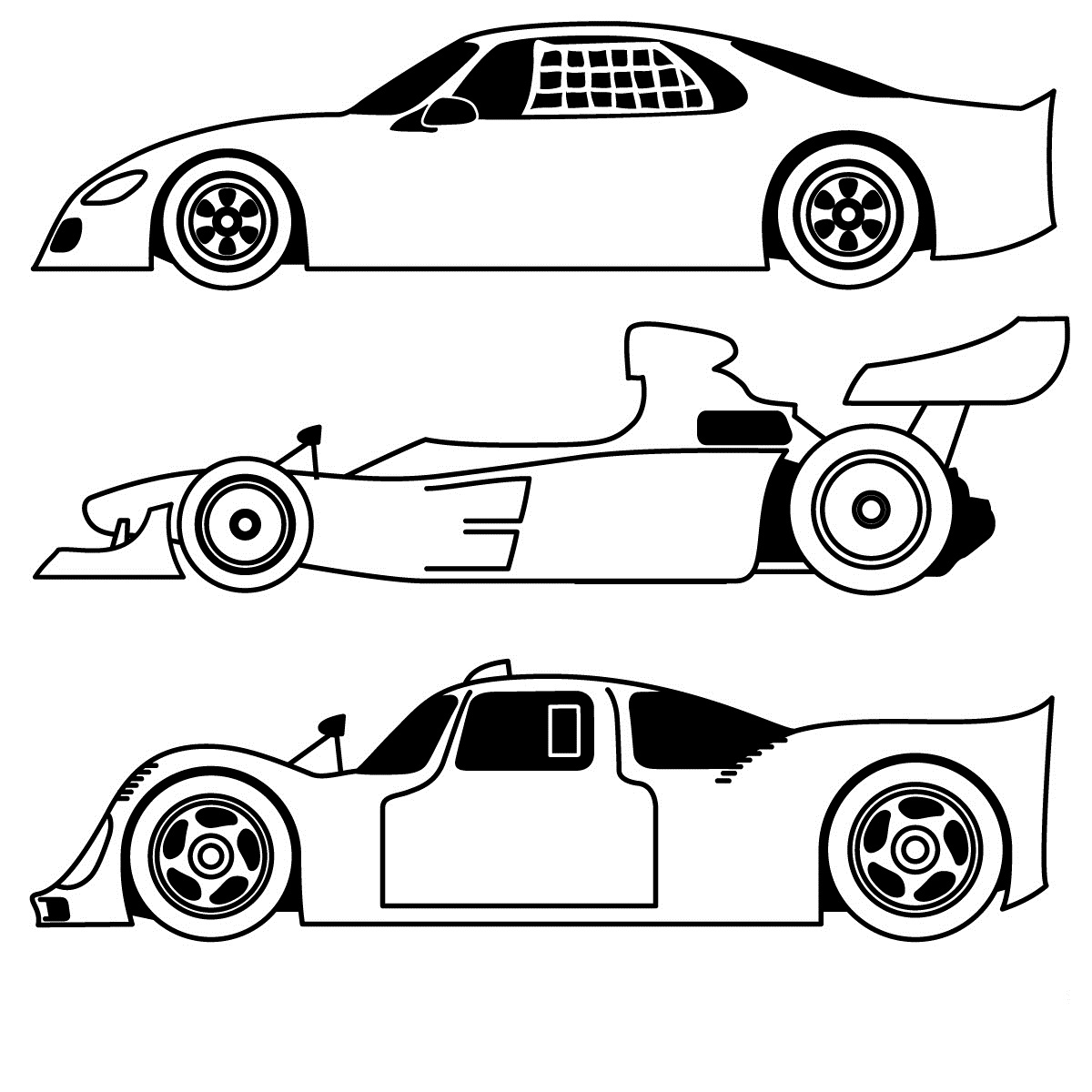 1200x1200 Sports Car Coloring Pages Design Kids