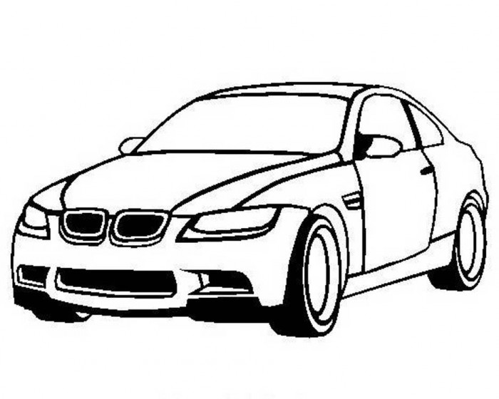 Sports Car Drawing Easy