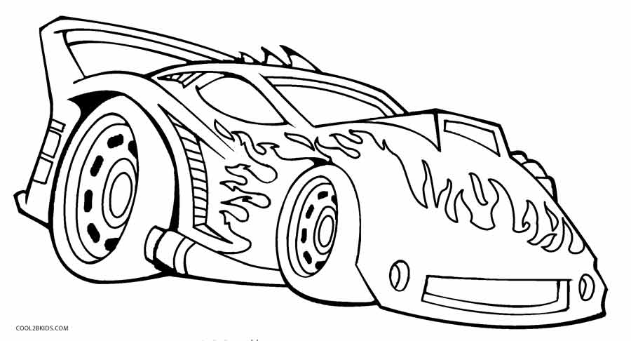 900x486 Printable Hot Wheels Coloring Pages For Kids Cool2bkids