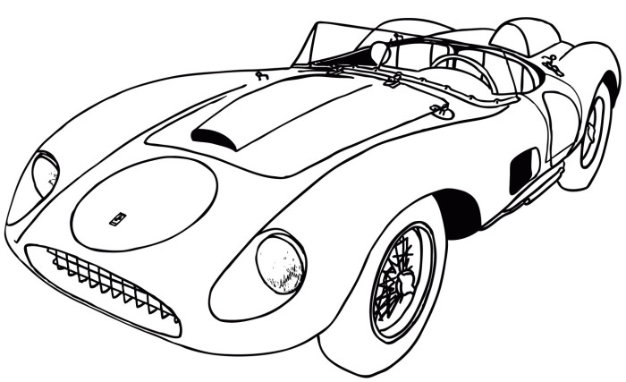 Sports Car Drawing Outline at GetDrawings.com | Free for ...