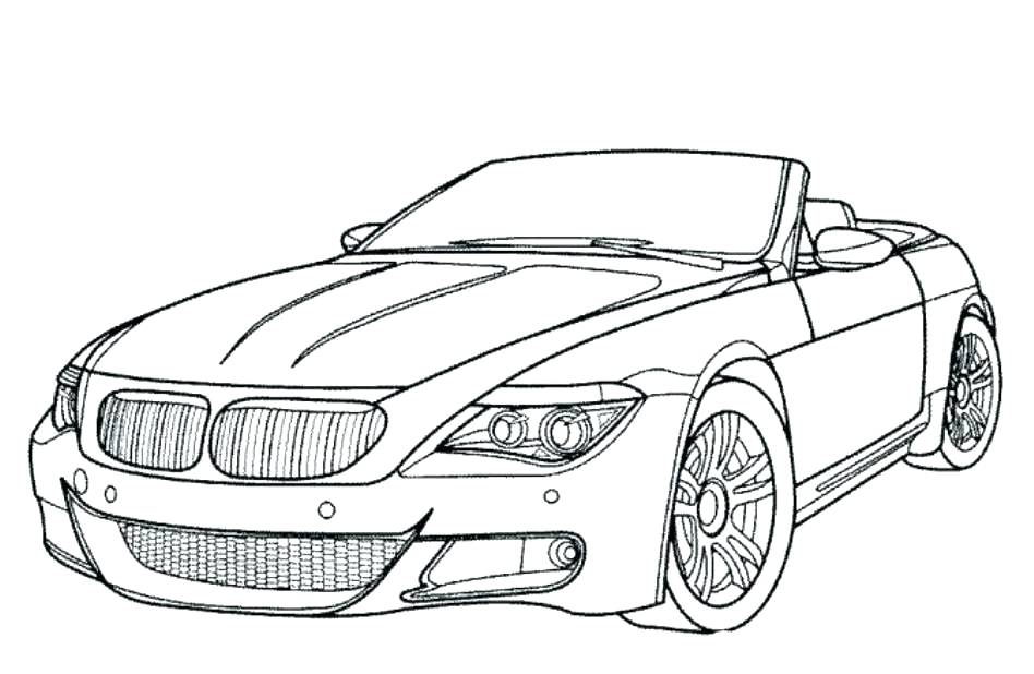 Sports Car Drawing Outline at GetDrawings.com | Free for personal ...