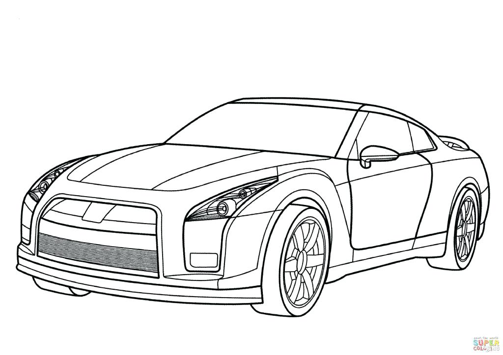 1024x724 Sports Car Coloring Pages Packed With The Gt R Truly Does Redefine