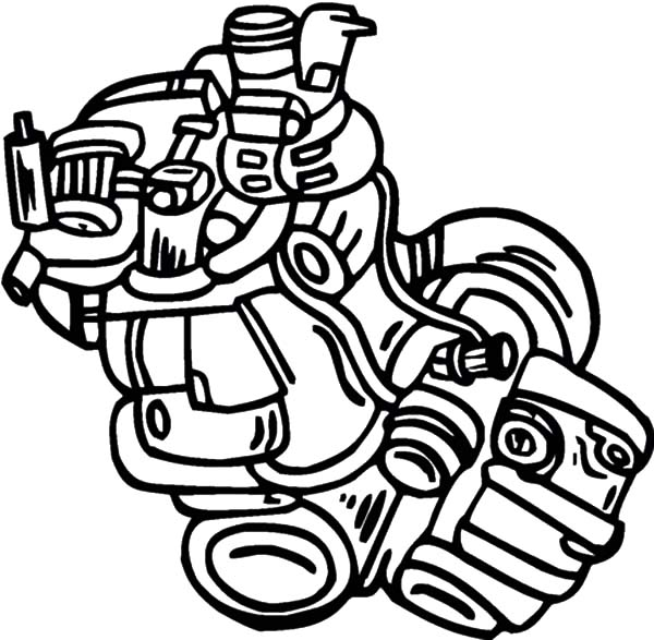 600x587 Engine Of The Sport Car Parts Coloring Pages Best Place To Color