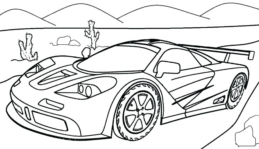 850x490 Printable Coloring Pages Cars Coloring Pages For Kids Cars As Car