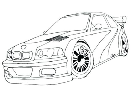 460x310 Sport Cars Coloring Pages 17588