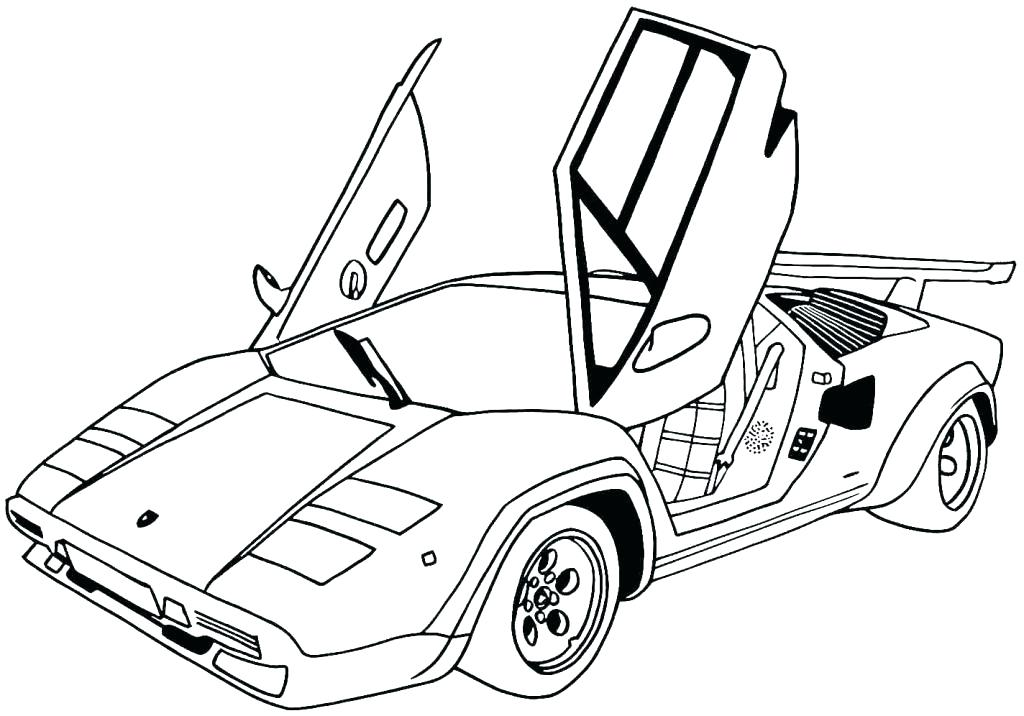1024x716 Sport Car Coloring Pages Sports Cars Coloring Pages Sport Car
