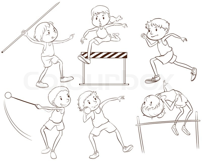 Sports Drawing For Kids