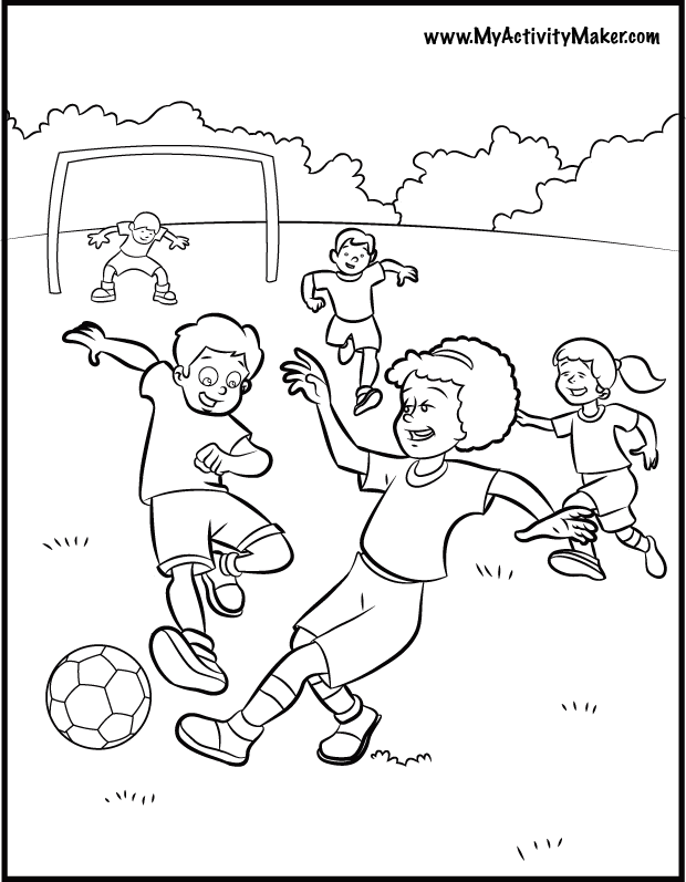sports activities coloring pages - photo#8