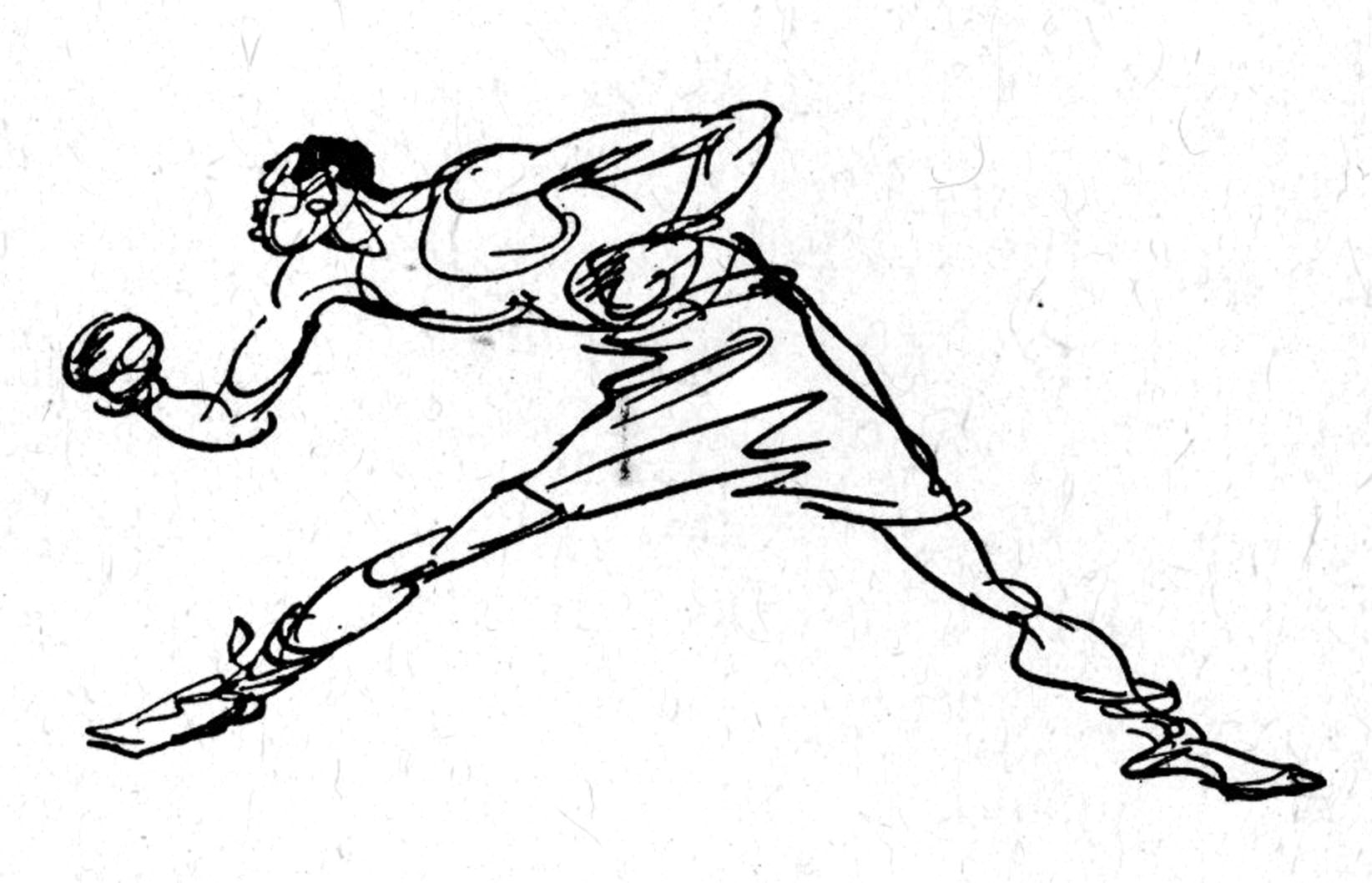1644x1058 Boxer Cartoon Drawings How To Draw A Boxer (Sports)