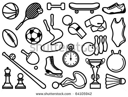 450x340 12 Simple Sports Icons Images