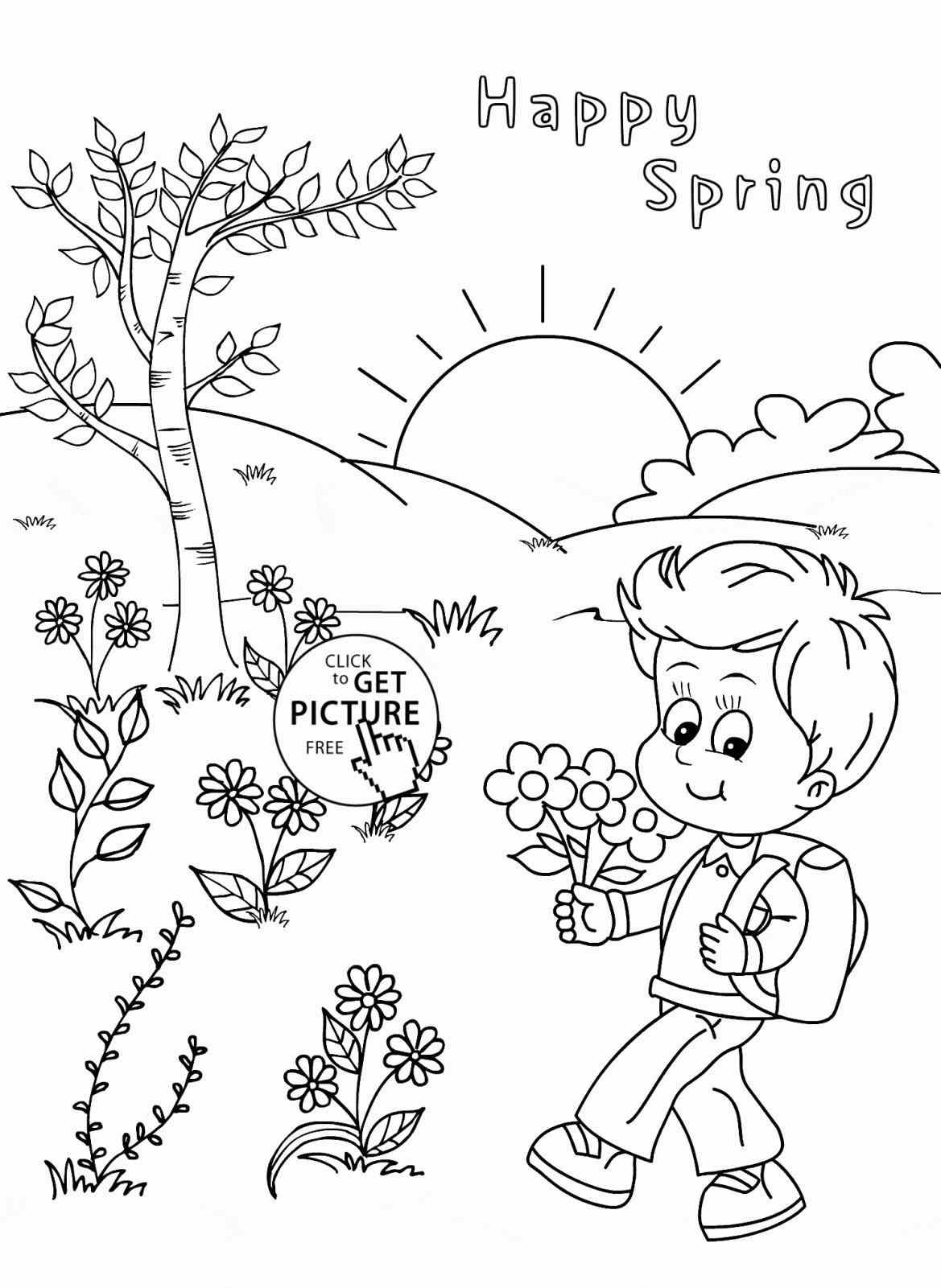 1169x1601 Of Sketch For Kids On Coloring Pages Rabbit For Spring Season