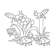 230x230 Top 35 Free Printable Spring Coloring Pages Online
