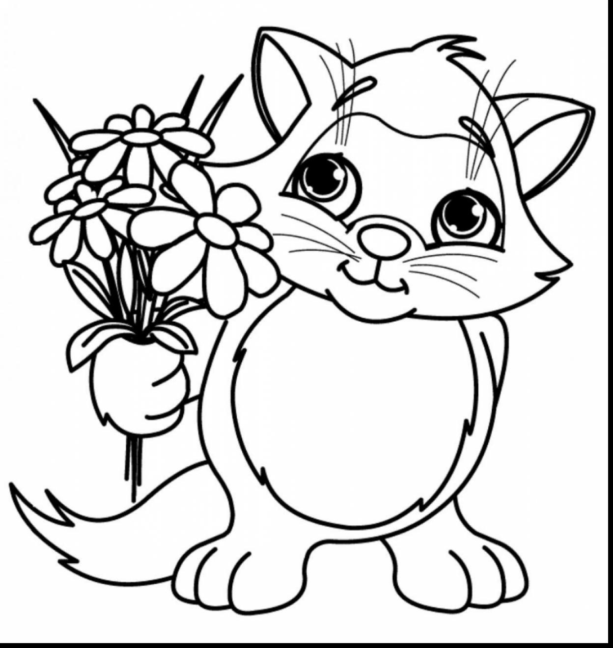 1248x1320 Spring Flower Coloring Pages
