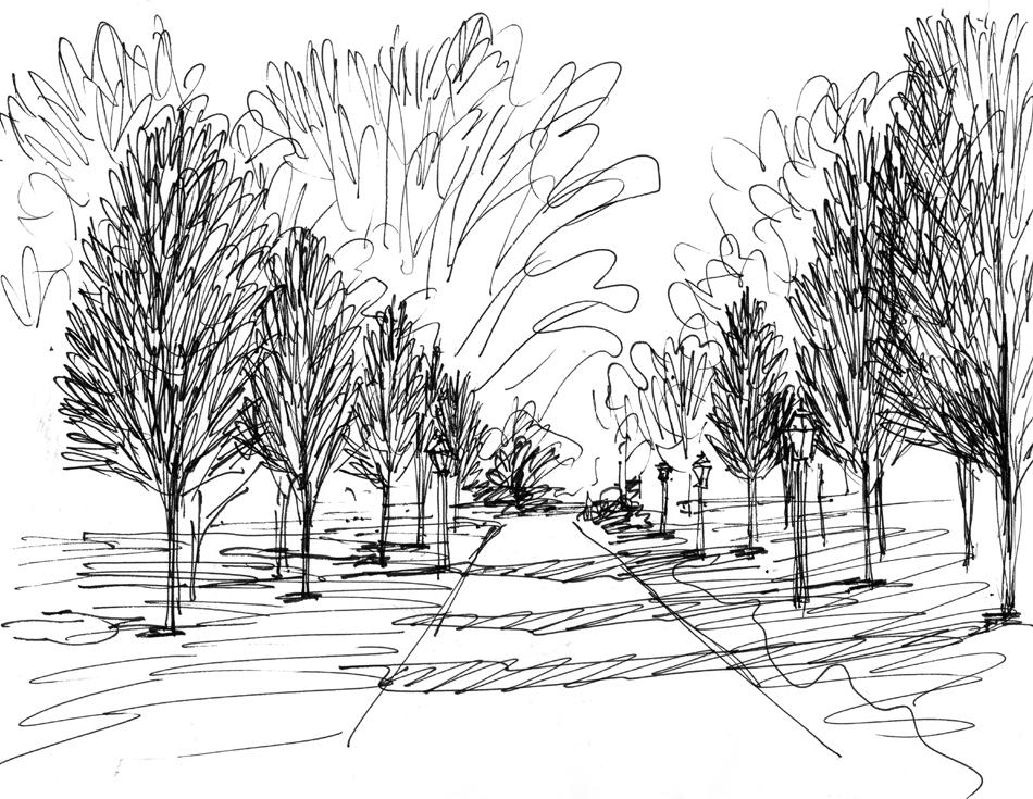 950x735 Howard Supnik Commercial Landscape Architect ,design, Lancaster